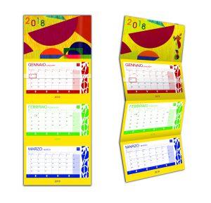Calendario da parete lenticolare