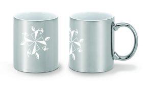 MUG Ceramica argento
